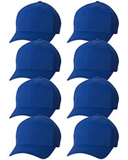 Yupoong 6533 Unisex Flexfit Ultrafibre Cap 8-Pack at GotApparel