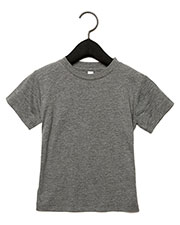 Bella + Canvas 3413T Infants & Toddlers Triblend Short-Sleeve T-Shirt at GotApparel