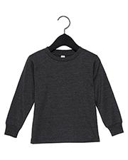 Bella + Canvas 3501T Toddler Jersey Long Sleeve T-Shirt at GotApparel