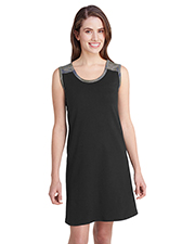 LAT 3523 Ladies Racerback Tank Dress at GotApparel