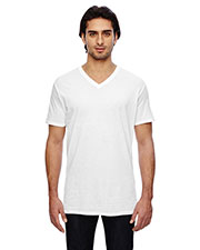 Anvil 352 Men Featherweight V-Neck T-Shirt at GotApparel