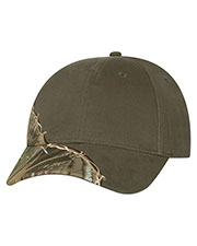Kati LC4BW Unisex Licensed Camo Cap with Barbed Wire Embroidery at GotApparel