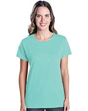LAT 3580 Women Premium Jersey T-Shirt at GotApparel