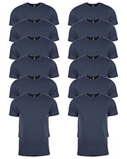 Next Level 3600 Men Premium Fitted Short-Sleeve Crew 12-Pack at GotApparel