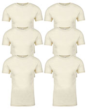 Next Level 3600 Men Premium Fitted Short-Sleeve Crew 6-Pack at GotApparel