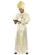 Smiffys 36376M Men Pope Costume, Cream at GotApparel