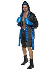 Smiffys 36391M Men Boxer Costume, Black at GotApparel