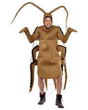 Smiffys 36571 Men Cockroach Costume, Brown at GotApparel