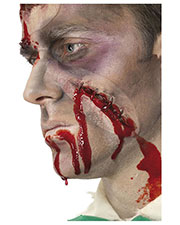 Smiffys 36814 Unisex Make-Up Fx, Self Stitched Up Latex Scar, R at GotApparel