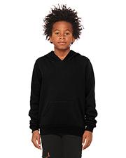 Bella + Canvas 3719Y Youth 7 oz Sponge Fleece Pullover Hooded Sweatshirt at GotApparel