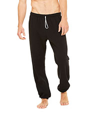 Bella + Canvas 3737 Unisex Sponge Fleece Long Scrunch Pant at GotApparel
