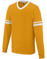 Augusta 373 Boys Long Sleeve Stripe Jersey at GotApparel