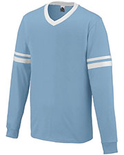Augusta 373 Boys Long Sleeve Stripe Jersey at GotApparel