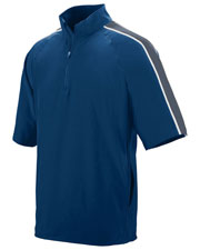 Augusta 3789 Boys Quantum Short Sleeve Pullover Water Resistant at GotApparel