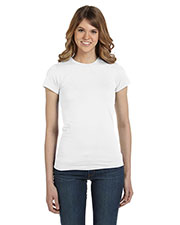Anvil 379 Women Ringspun Fitted T-Shirt at GotApparel