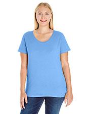 LAT 3804 Women Curvy T-Shirt at GotApparel
