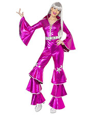 Smiffys 38520M Women 70s Dancing Dream Costume, Pink at GotApparel