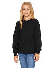 Bella + Canvas 3901Y Youth Sponge Fleece Raglan Sweatshirt at GotApparel