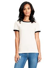 Next Level 3904 Ladies Ringer T-Shirt at GotApparel