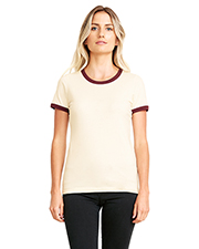 Next Level 3904 Ladies Ringer T-Shirt at GotApparel