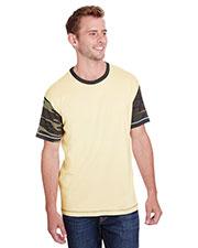 Code V 3908 Men Fashion Camo Ringer T-Shirt at GotApparel