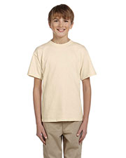 Fruit Of The Loom 3931B Boys 100% Heavy Cotton HD T-Shirt at GotApparel