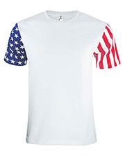 Code V 3976 Men Stars & Stripes T-Shirt at GotApparel