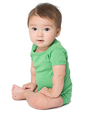 Custom Embroidered American Apparel 4001W Infant 5.9 oz Baby Rib Short-Sleeve One-Piece at GotApparel