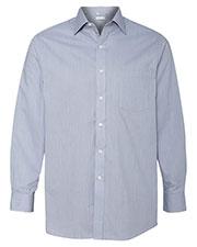 Van Heusen 13V0235 Men Classic Pincord Spread Collar Shirt at GotApparel