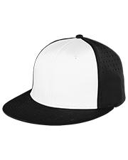 Champion 4103NY boys Stretch Fit Flat Bill Hat at GotApparel
