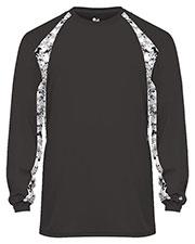 Badger 004155 Boys Digital Hook Long-Sleeve Tee at GotApparel