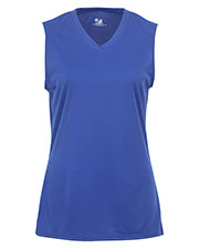 Badger Sportswear 4163 Women V-Neck T-Shirt at GotApparel