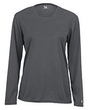 Badger Sportswear 4164 Women Comfort Long-Sleeve T-Shirt at GotApparel