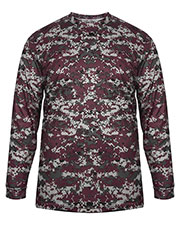 Badger 4184 Men Long-Sleeve Sublimated Tee at GotApparel