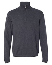Weatherproof 151391 Men Vintage Cotton Cashmere Quarter-Zip Sweater at GotApparel