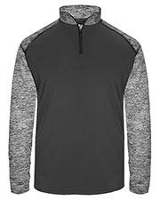 Badger 4198 Women Sport Blend 1/4-Zip Pullover at GotApparel