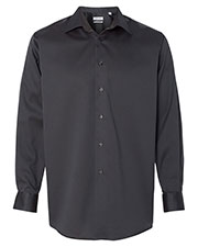 Calvin Klein 13CK033 Men Non-Iron Micro Pincord Long Sleeve Shirt at GotApparel