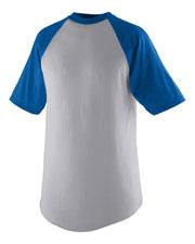 Augusta 424 Boys Short-Sleeve Baseball Jersey at GotApparel