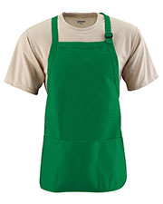 Augusta 4250 Unisex Medium Length Apron at GotApparel