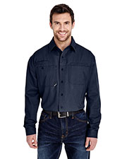Dri Duck 4342 Men Mason Long-Sleeve Work Shirt at GotApparel