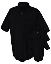 Jerzees 436P Men 5.6 Oz. 50/50 Jersey Pocket Polo With Spotshield 3-Pack at GotApparel