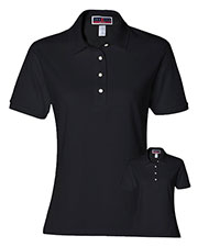Jerzees 437W Women 5.6 Oz. 50/50 Jersey Polo With Spotshield  2-Pack at GotApparel