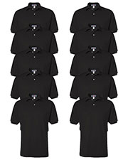 Jerzees 437 Men 5.6 Oz. 50/50 Jersey Polo With Spotshield 10-Pack at GotApparel