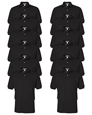 Jerzees 437 Men 5.6 Oz. 50/50 Jersey Polo With Spotshield 12-Pack at GotApparel