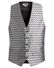 Edwards 4391 Men Swirl Brocade Vest at GotApparel
