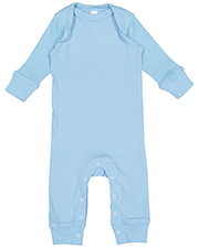 Rabbit Skins 4412 Infant 5.0 oz Baby Rib Coverall at GotApparel