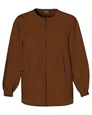 Cherokee Workwear 4450 Men Snap Front Warm-Up Jacket at GotApparel