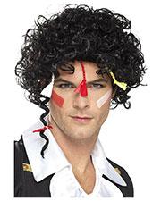 Smiffys 44644 Men 80s New Romantic Wig, Black at GotApparel