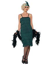 Smiffys 44674S Women Flapper Costume, Green at GotApparel