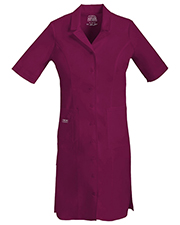 Cherokee Workwear 4508 Women Button Front Dress at GotApparel
